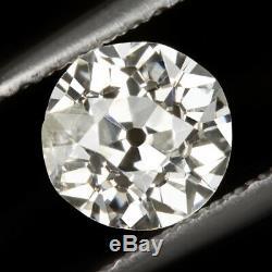0.80ct OLD MINE CUT DIAMOND VINTAGE ANTIQUE NATURAL EUROPEAN 3/4 CARAT LOOSE OMC