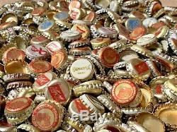 1,245 Huge! Lot Of Vintage Beer Bottle Caps Olympia Miller Coors Old Antique Vtg