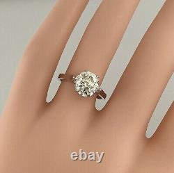 1.90 ct Vintage Antique Old European Cut Diamond Engagement Ring In Platinum