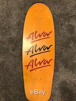 1979 vintage Alva Litebeam skateboard dogtown era deck old school