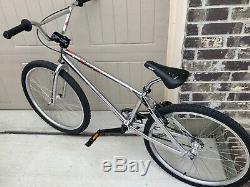 1998 Dyno Nitro GT 24 Chrome Cruiser BMX Vintage Old Mid School 90's