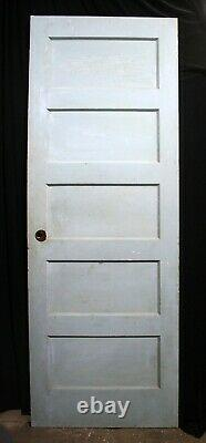 26x76 Antique Vintage Old SOLID Wood Wooden Interior Closet Pantry Door Panel