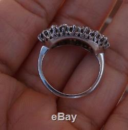 2ct European old cut vintage antique diamond ring 14k shank platinum top