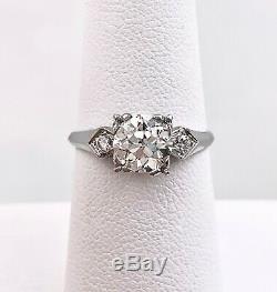 Antique 1.27 Carat Old European Cut GIA Diamond Ring
