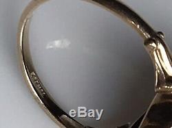 Antique 19th c 10k GoldOld Mine Diamond ChipFiligreeOnyx Mourning Ring 5.25