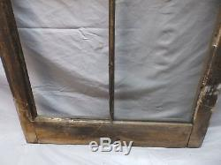 Antique 4 Lite Casement Window 49x24 Cabinet Moorish Door Vtg Old Chic 97-18P