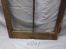 Antique 4 Lite Casement Window 49x24 Cabinet Moorish Door Vtg Old Chic 97-18P