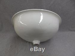 Antique JL Mott Vitreous China Marble Sink Wash Basin Old Vtg Plumbing 1011-16