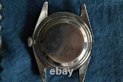 Antique Old Vintage Rolex Submariner 6536 6536/1 Diving Wristwatch Chronometer