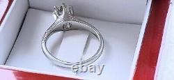 Antique Platinum Vs2/j 0.80ct Old Mine Cut Diamond Engagement Ring Size 7 6.3gr