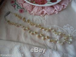 Antique Vintage Australian Iridescent Shell Old Necklace Early Tourist Market