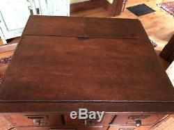 Antique Vintage Library Bureau Card Catalog File Cabinet 100+ Yrs Old Rare