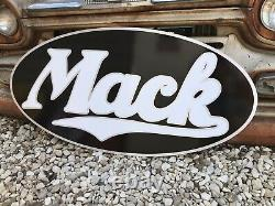 Antique Vintage Old Style Mack Trucks Sign. Free Shipping