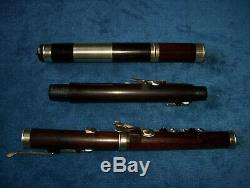Antique Vintage Old Wooden 8 Key Irish Flute Metzler London