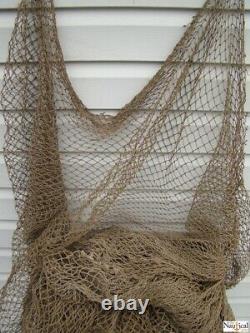 Authentic Used Fishing Net Old Vintage Fish Netting Nautical Maritime Decor