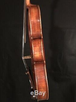 C. 1890-1910 Jacobus Stainer 4/4 Full Size Violin Vintage Old Antique Fiddle