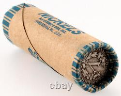 Crimped & Sealed Liberty V & Buffalo Nickel Roll $2 Old Antique & Vintage Coins