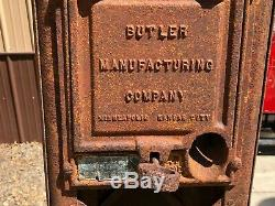 Early BUTLER 71 OLD Visible GAS PUMP Vintage Antique Model T A Oil Sign DISPLAY
