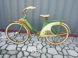 Elgin MISS AMERICA Pre War tank Bicycle bike vintage old antique 1930s art deco