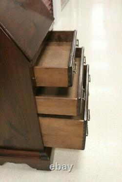 Ethan Allen Old Tavern Antiqued Pine Secretary With Bookcase Cabinet #12- 9512