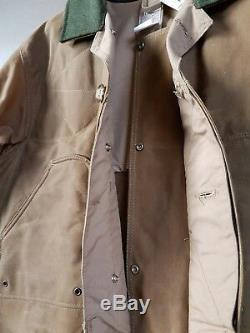 Filson Classic 80s Vintage Shelter waterproof Hunting Coat New Old Stock NOS