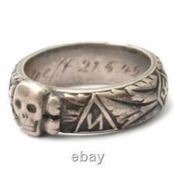 German Rare Ring Kit 1842 SS Award Militaria Old Original Antique Joachim Dukart