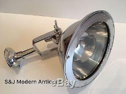 Industrial Wall Ceiling Cargo Light Bulkhead Antique Vintage Lamps Aluminium Old