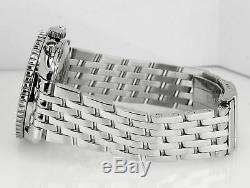 Men's Breitling Old Navitimer II Chronograph Black Steel 41.5mm A13022 Watch