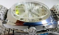 New Automatic Old Stock Ussr Made Slava / Sekonda 2427 Double Calendar Watch
