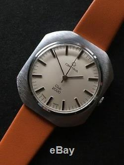 New Old Stock Vintage Certina Club 2000 Steel Case Manual Mens Watch