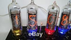 Nixie tube clock with IN-14 tubes Vintage Desk Table Retro Old School