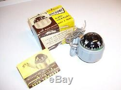 Original 1940' s 1950' s Vintage Accessory Airguide visi-dome compass nos in box