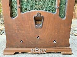 RARE Antique Tombstone Graybar Radio 8 Super-Heterodyne RCA Victor Vintage Old
