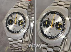 Rare Dugena Automatic Chronograph Buren 12 Caliber, Never Worn New Old Stock