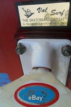 Rare Kryptonics Star-Trac Skateboard Micke Alba 9.75 Trucks ACS Old School 1978
