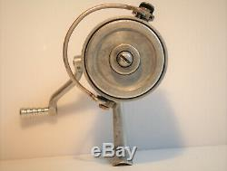 Rare Moulinet Peche Ancien Sw Vintage Old France French Reel Alte Rolle