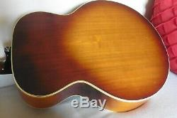 Rare Old Vintage Ibanez J200 Acoustic Guitar Relic Gibson Strings + Setup