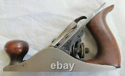 Stanley No 1 Cast Iron Plane Excellent Vtg Old Antique