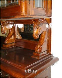 The Dublin Canopy Home Bar Tavern Old Antique Style English Pub or Counter
