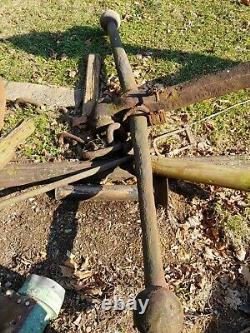 Very Old, very Large, very Heavy Original Antique Ship Anchor