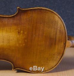 Very old labelled Vintage violin Antonio Ruggieri 1723 fiddle Geige