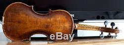 Very old labelled Vintage violin Carlo Giuseppe Testore Geige