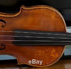 Very old labelled Vintage violin Giuseppe Ornati 1937 Geige viola