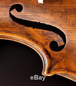 Very old labelled Vintage violin Paolo Antonio Testore Geige