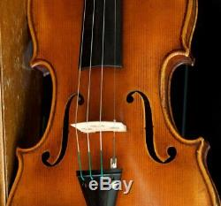 Very old labelled Vintage violin Petrus Sgarabotto Geige