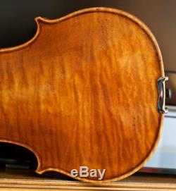 Very old labelled Vintage violin Petrus Sgarabotto Geige