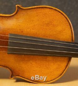 Very old labelled Vintage violin Pollastri Gaetano Geige