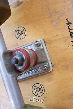 Vintage Dogtown Skateboard Stage 1 Independent Trucks Sims Old School Humpston