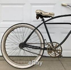 Vintage Jc Higgins Colorflow, Jet Flow Bicycle, Old Antique Bike