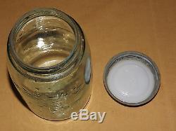 Vintage Old Antique 1858 Crown Mason's Patent Nov 1867 Bottle Jar